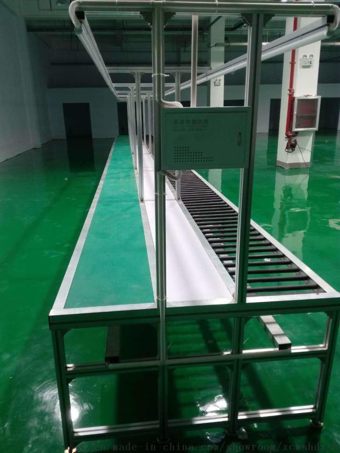 無動力滾筒線 電子電器生產線 變頻器生產輸送滾筒線778465482