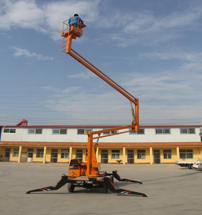 供应湖南长沙车载曲臂式升降平台液压升降机维修路灯专用732386012