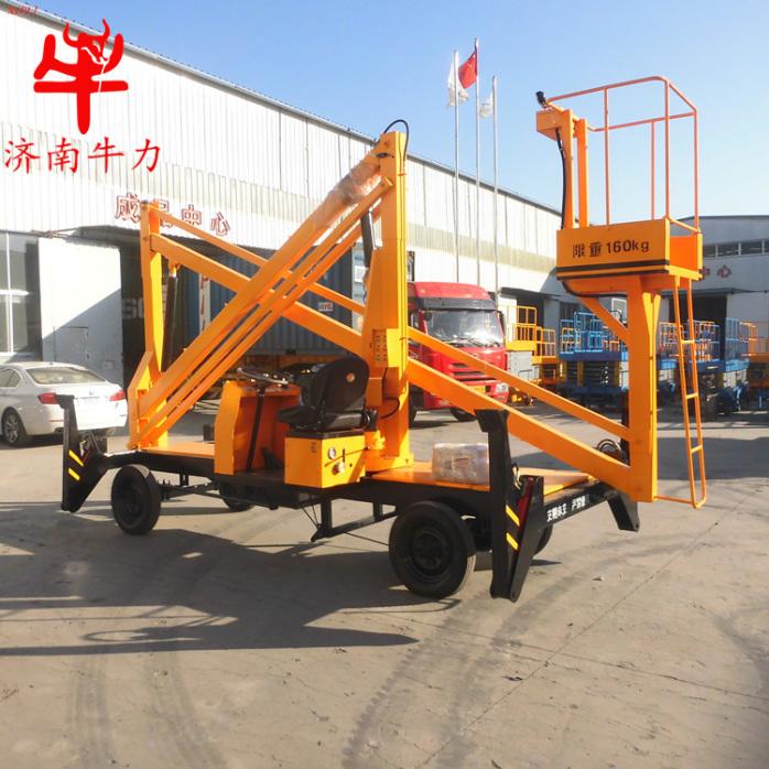 供应湖南长沙车载曲臂式升降平台液压升降机维修路灯专用732386002