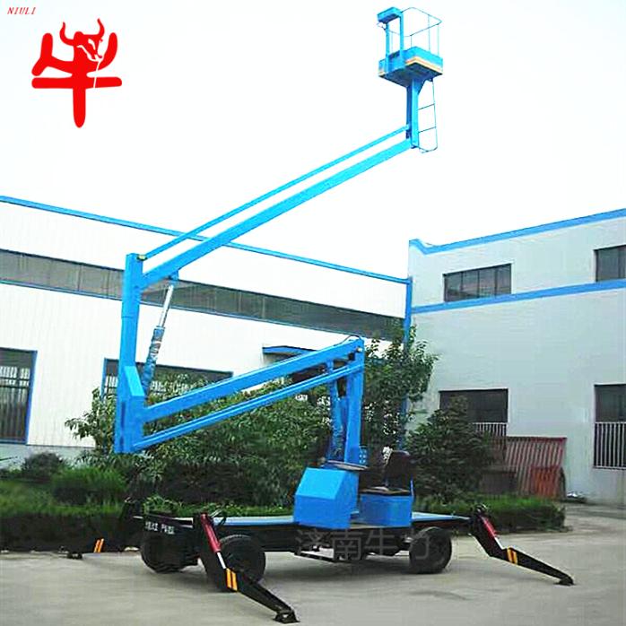 广告维修高空作业平台车柴油驱动曲臂式升降机自行走式液压升降梯731538492