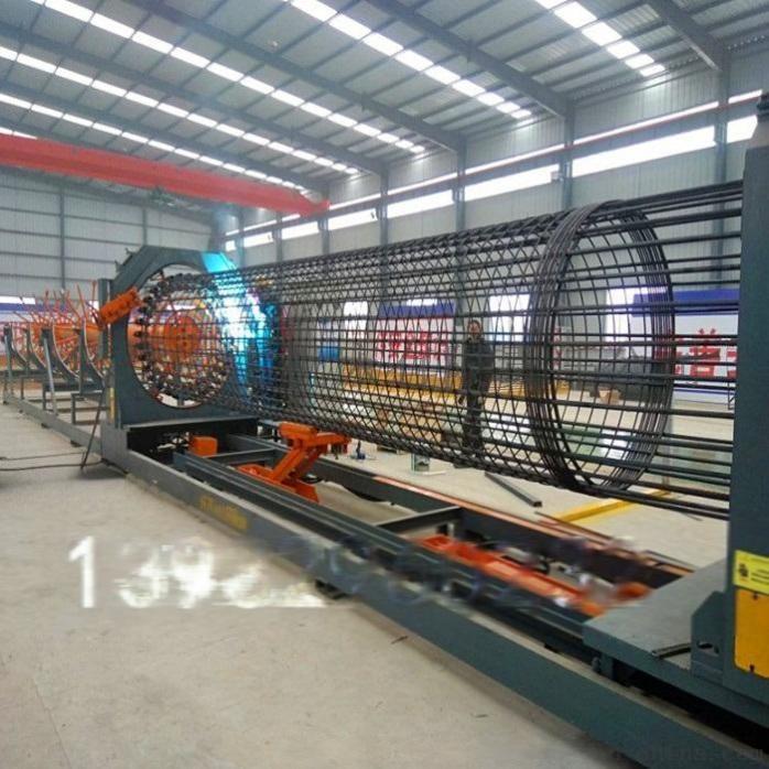 钢筋弯曲中心数控钢筋绕笼机钢筋笼滚焊机779342242