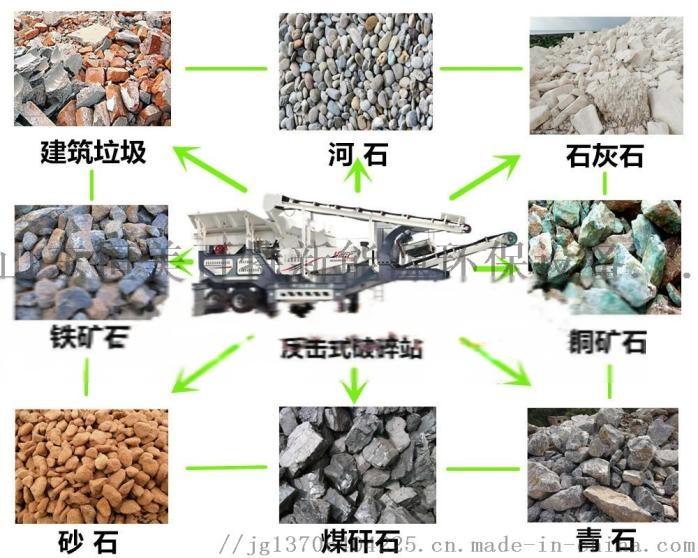 建筑垃圾破碎站 矿山破碎生产线 移动式破碎站72175802
