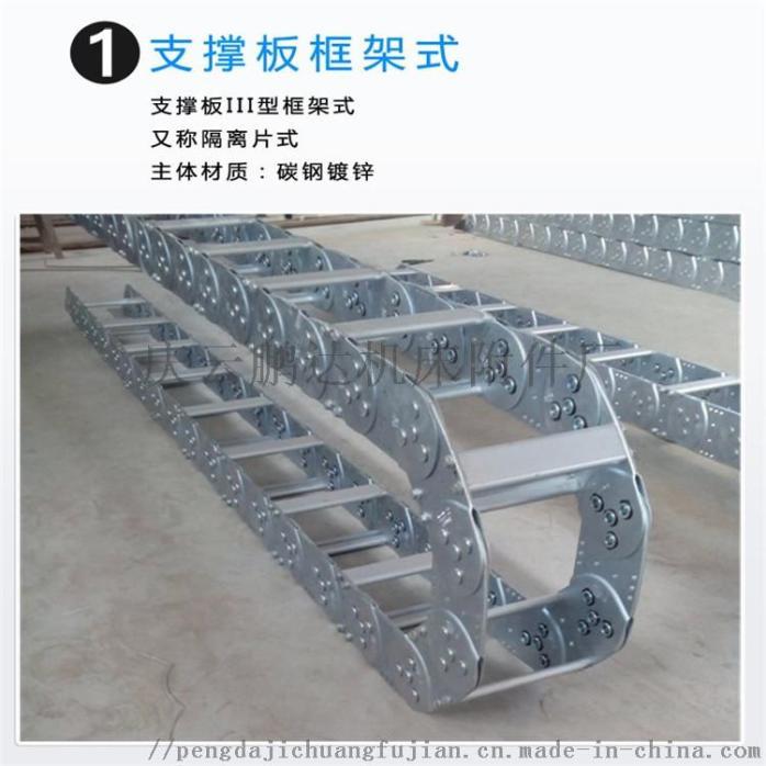 冶金设备专用钢铝拖链 线缆油管气管不锈钢拖链76943262