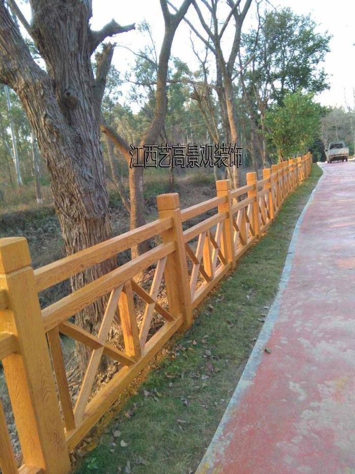 0118美丽 乡村建设仿木栏杆.jpg