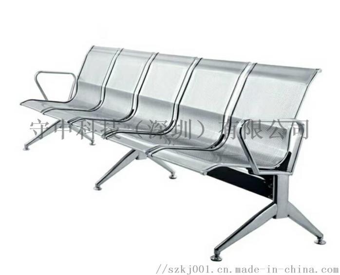 304三人位全不锈钢排椅图片75753165