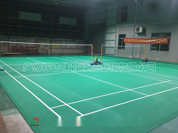 塑膠羽毛球場施工建設及羽毛球場地膠安裝廠家79227452