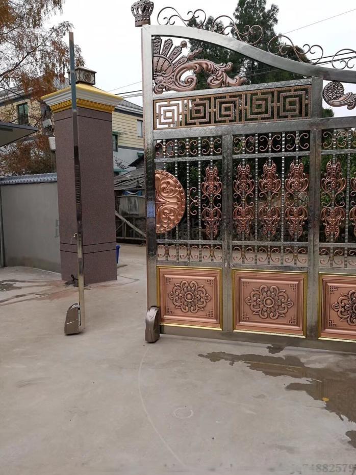农村自建别墅电动大门改造手机遥控阿尔卡诺电动大门815026755