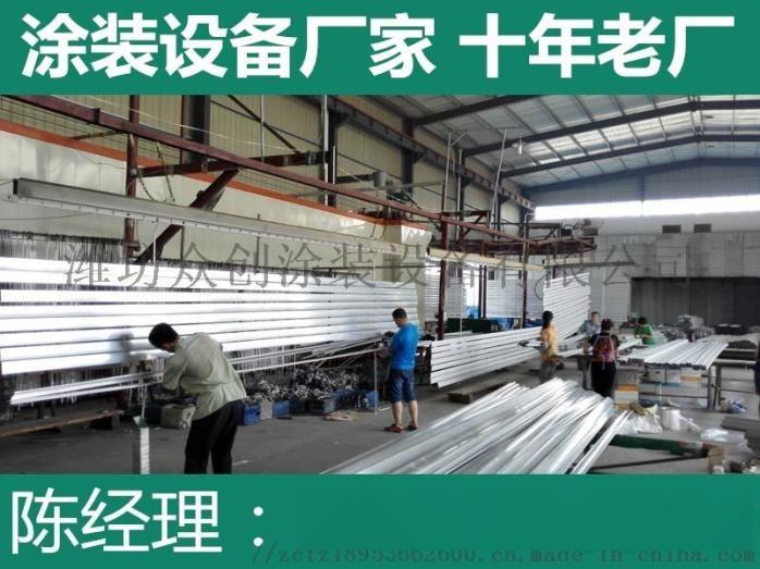 铝材喷粉生产线 粉末涂装设备795157085