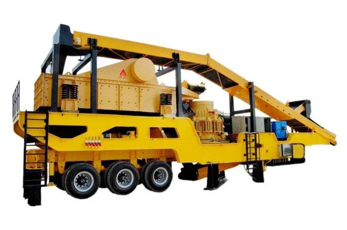 时产300吨移动破碎站多少钱 郑州移动式碎石机报价81585352