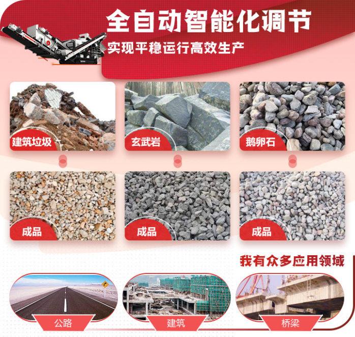时产300吨移动破碎站多少钱 郑州移动式碎石机报价81585172