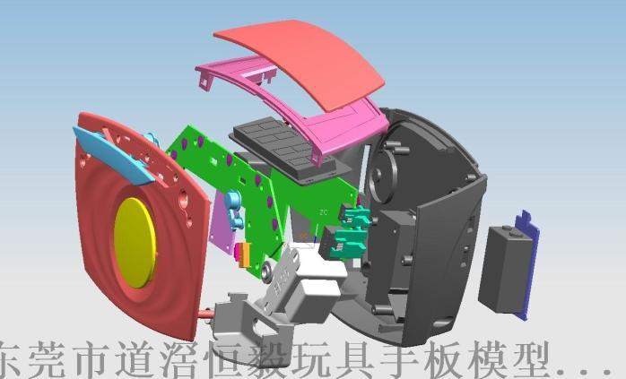 儿童玩具车手板设计,儿童玩具3D手板设计,打样82386985