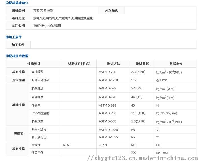 台湾化纤HP8250物性0.png