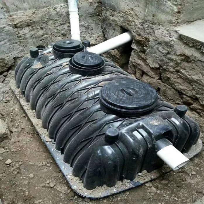 安徽省黄山市厂家直销1.5立方米塑料三格化粪池83964715