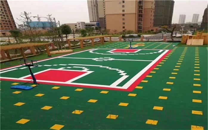 學校小米組合拼裝地板品牌工程實景:邯邰鎮:楚雄州:84492765
