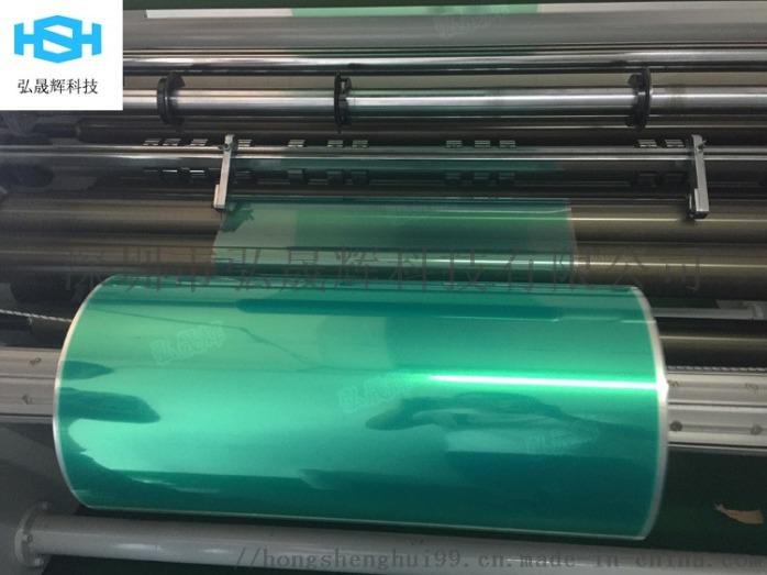 PET綠色矽膠耐高溫接駁膠帶 噴塗烤漆電鍍膠帶779947002