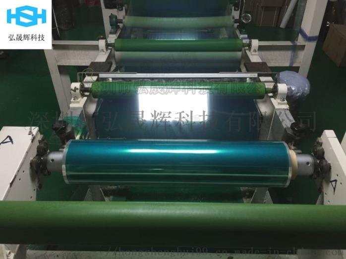 PET綠色矽膠耐高溫接駁膠帶 噴塗烤漆電鍍膠帶71568042
