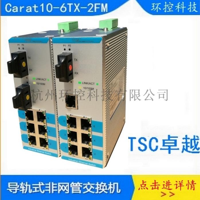 卓越TSCCarat10-6TX-2FS20交換機86294925