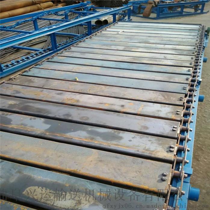 板链牵引金属板式输送机    链板式块料输送机732540872