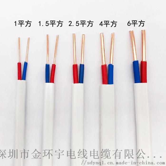国标铜芯BVVB 2芯0.75平方家装电线798610775