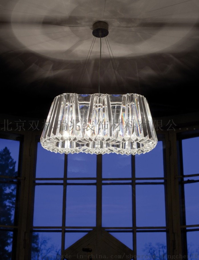 別墅躍層客廳水晶吊燈801851262