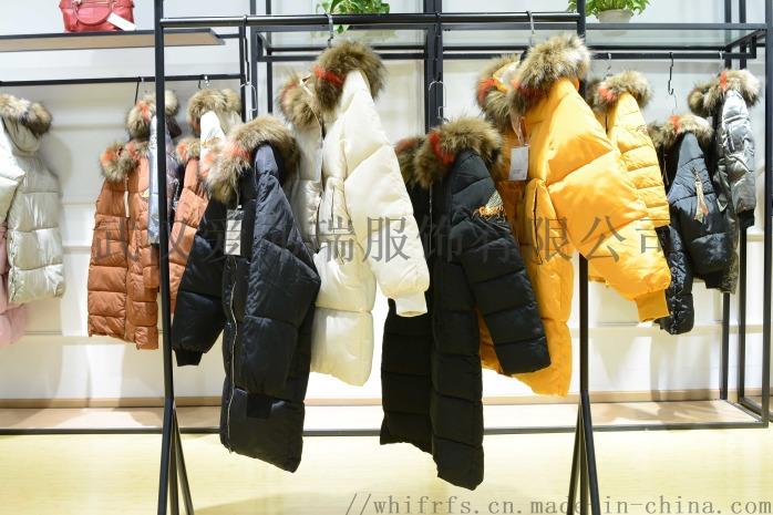 一二线品牌女装折扣变革18年冬装羽绒服大衣尾货走份85609485