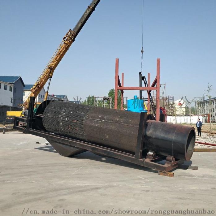定製淘金船砂金提取設備淘金機械大型抽沙淘金船90249662