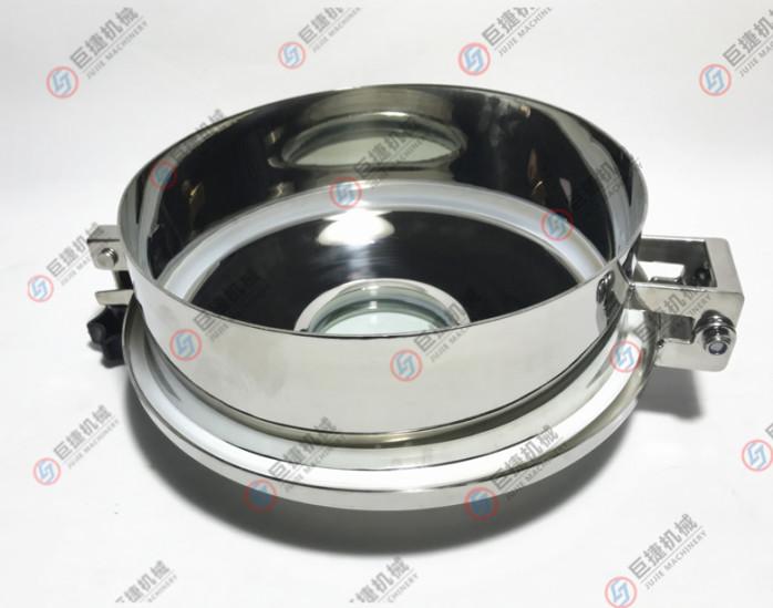 温州产卫生级带视镜常压人孔 卫生级人孔 不锈钢人孔37808585