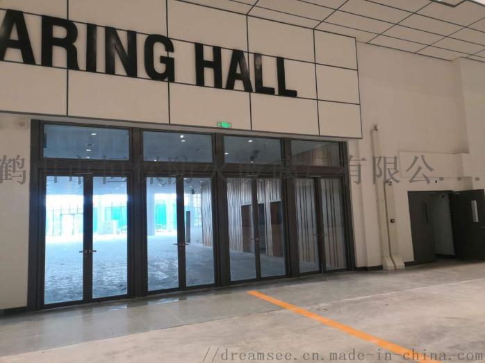 会展中心展览馆超大尺寸不锈钢玻璃防火门连窗803083112