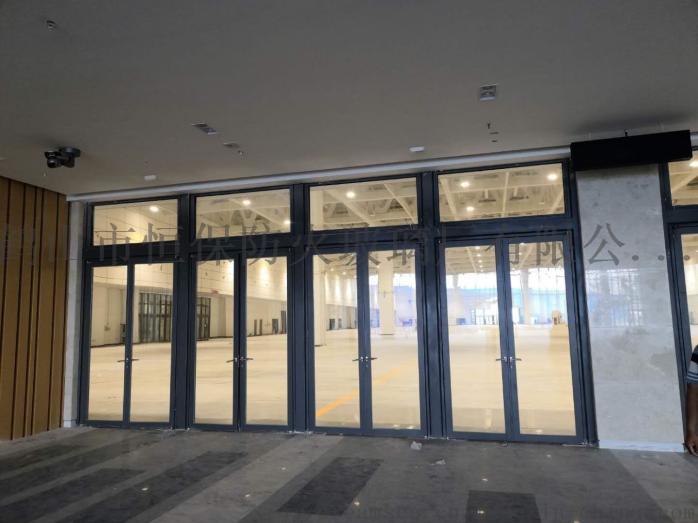 会展中心展览馆超大尺寸不锈钢玻璃防火门连窗803083122
