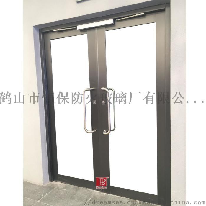 医院电梯前室不锈钢大玻璃防火门厂家报价802963142