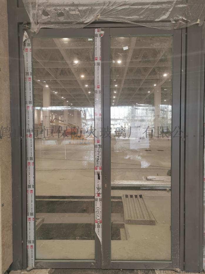 会展中心展览馆超大尺寸不锈钢玻璃防火门连窗90841522