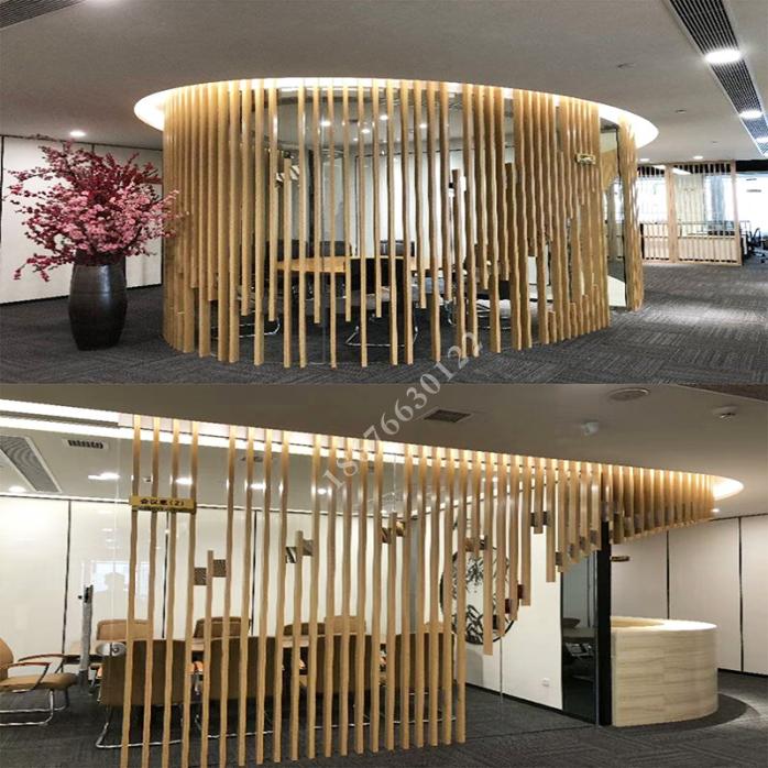 铝方管隔断安装 广东厂家专业生产氟碳木纹门头铝方通88677155