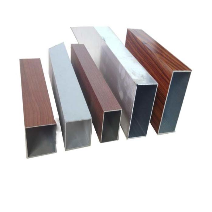 幕墙铝方通墙面安装 厂家专业生产氟碳木纹门头铝方通802496025