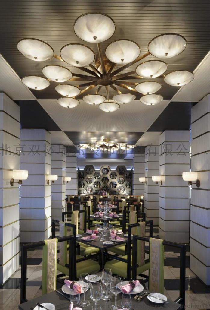 別墅酒店中空大吊燈大堂奢華水晶燈製作806697832
