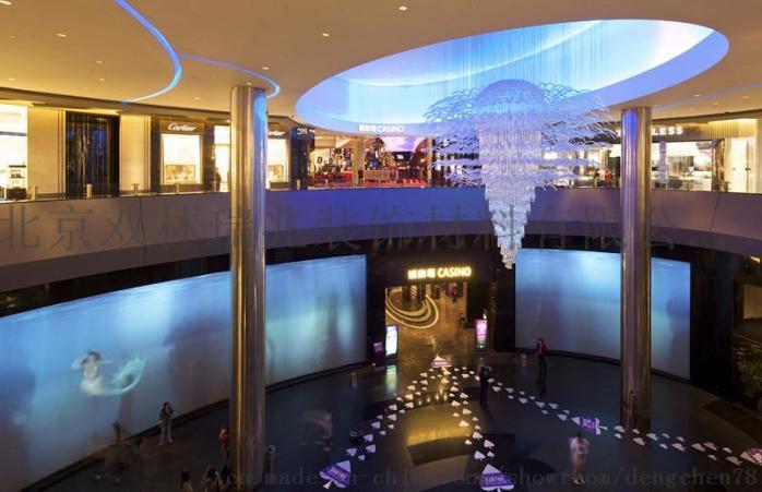 別墅酒店圓形豪華水晶燈宴會廳水晶吸頂燈807205922