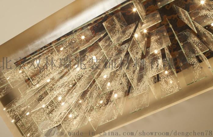 別墅酒店圓形豪華水晶燈宴會廳水晶吸頂燈807205902