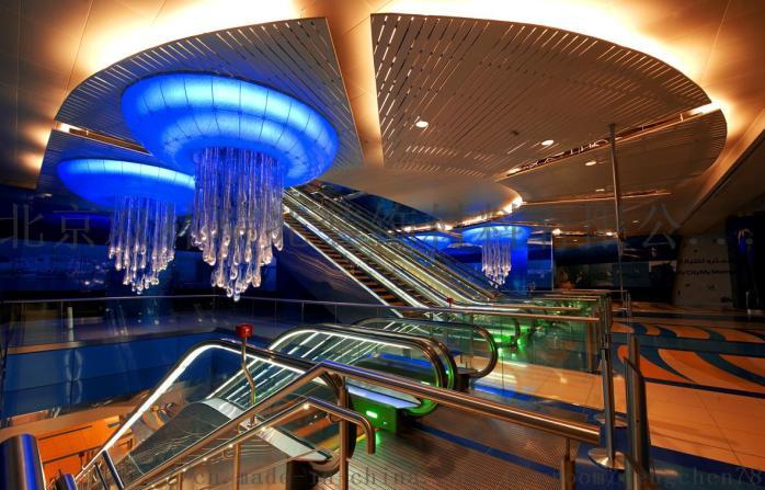 別墅酒店圓形豪華水晶燈宴會廳水晶吸頂燈807205892