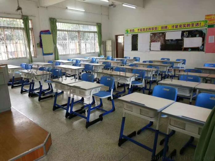 深圳【课桌培训椅-教室课桌椅-单人课桌】生产厂家95764525