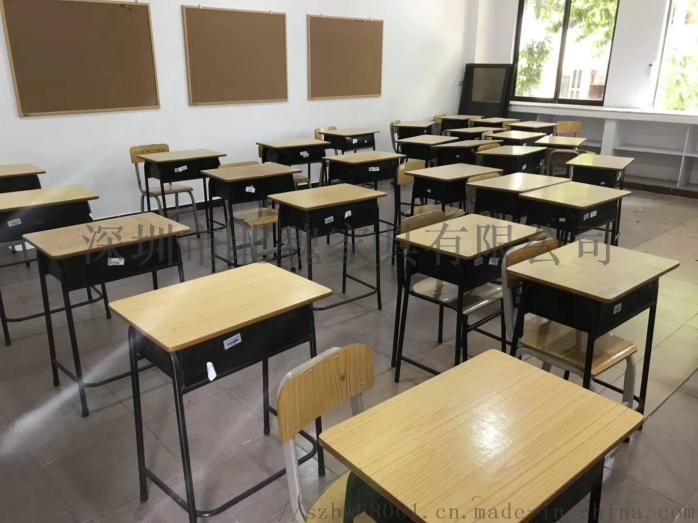 深圳【课桌培训椅-教室课桌椅-单人课桌】生产厂家95764545