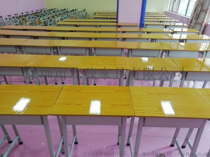 深圳【课桌培训椅-教室课桌椅-单人课桌】生产厂家95764475