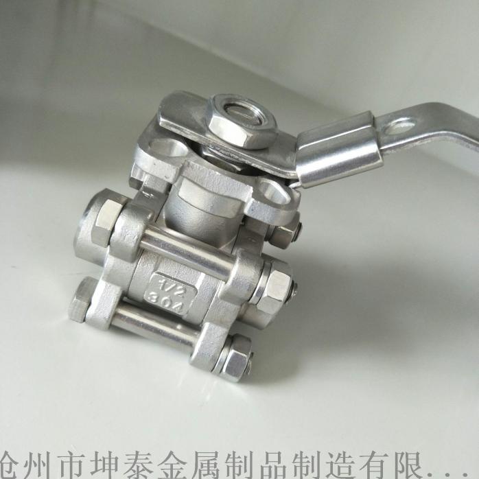 不鏽鋼法蘭球閥 2PC高平臺法蘭球閥809630152