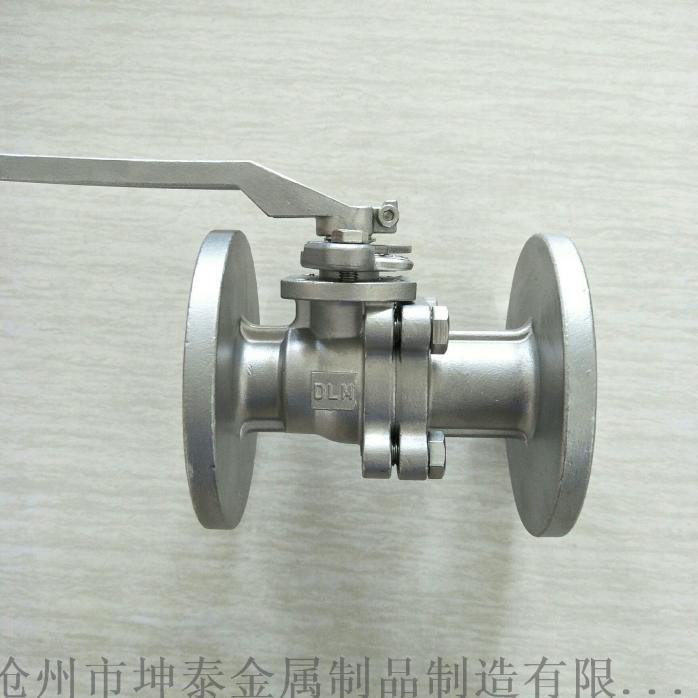 不鏽鋼法蘭球閥 2PC高平臺法蘭球閥809630122