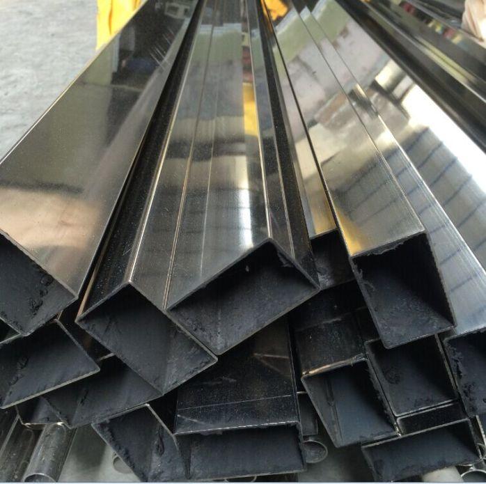 佛山201不鏽鋼焊接鋼管 仿古銅不鏽鋼管 水鍍紅古銅方管699924505