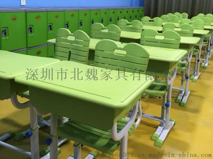 abs单人小学生塑料升降课桌椅厂家96078265