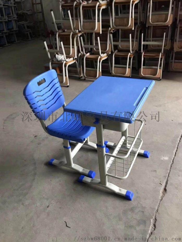 广东教育机构专用钢木课桌椅、学生课桌96102065