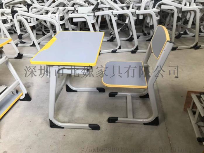 abs单人小学生塑料升降课桌椅厂家96077615