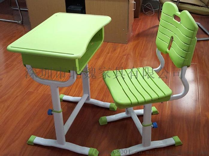 广东学校学生教室单人升降课桌椅(中小学)96072905