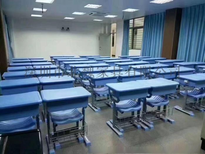 高中课桌椅*钢木课桌椅厂家*学生实木单人课桌椅96210935