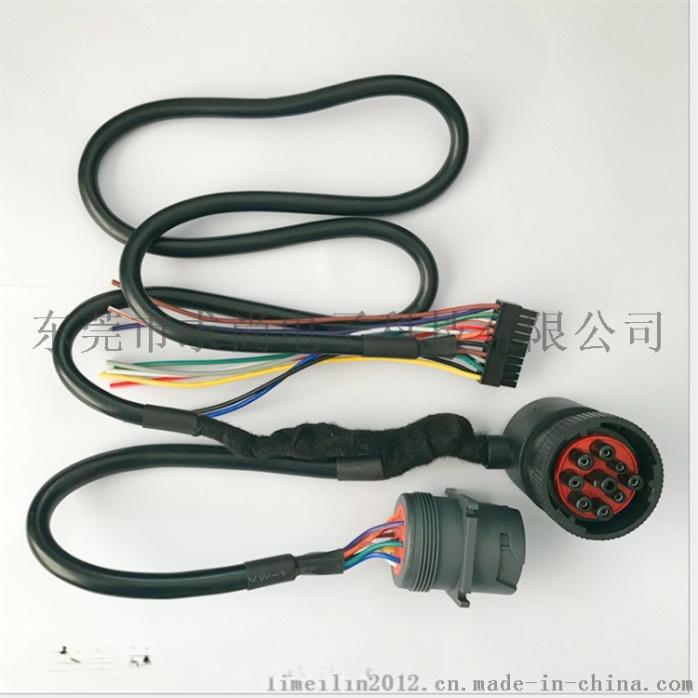 东风天龙汽车雷诺发动机线束总成3724570-T08A1755669105