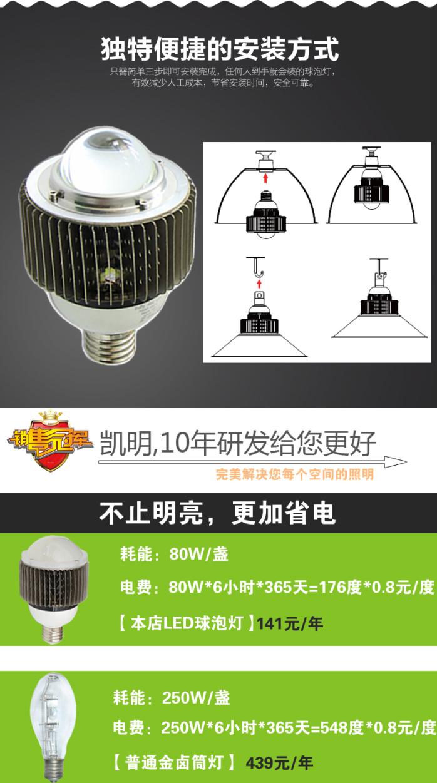 倉庫照明LED球泡燈 100W球泡燈96027435